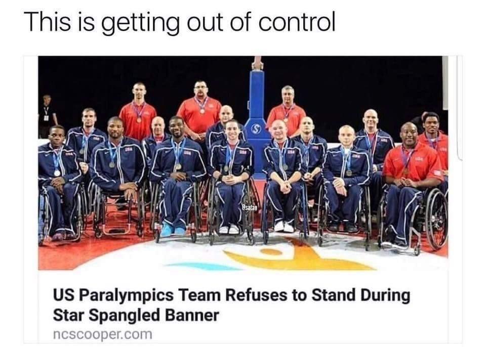 Disrespectful!