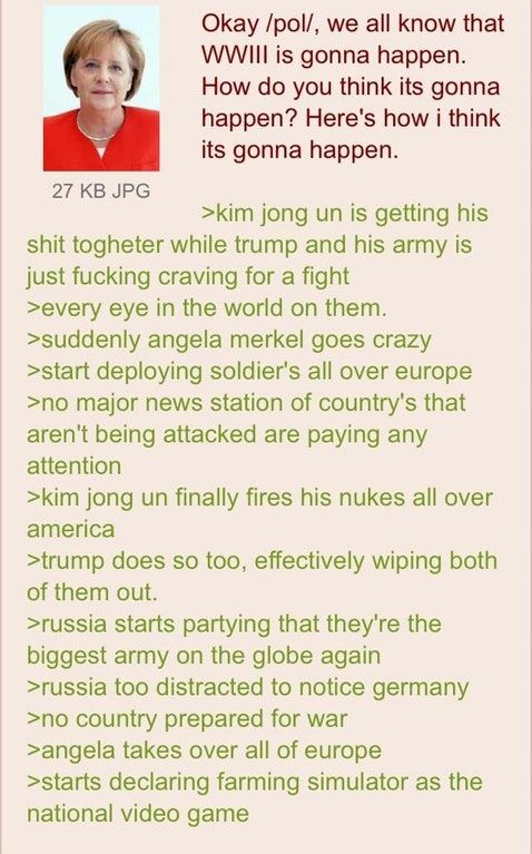 Anons thoughts on WWIII