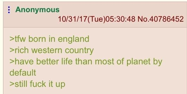 Anon and his life