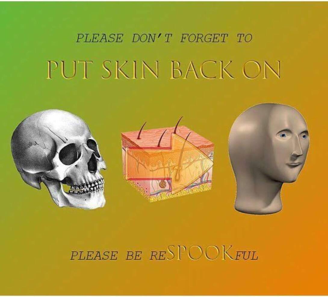 post halloween PSA