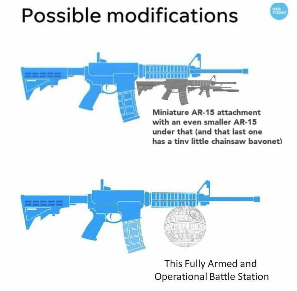 Ban assault bread gun attachment