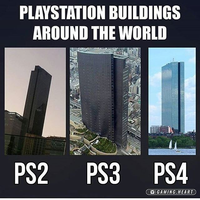 Huge PlayStation in the world.