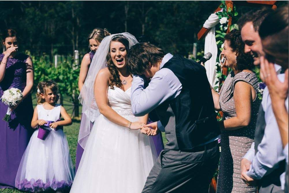 """Me, seconds after accidentally calling my wife 'selfish' instead of 'selfless"""" during my vows."""