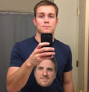 My name is Brad and my girlfriend's son will be having Thanksgiving with us. He doesn't seem to like me too much, so I want to show much I like him by wearing this!