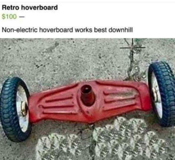 Antique Hoverboard