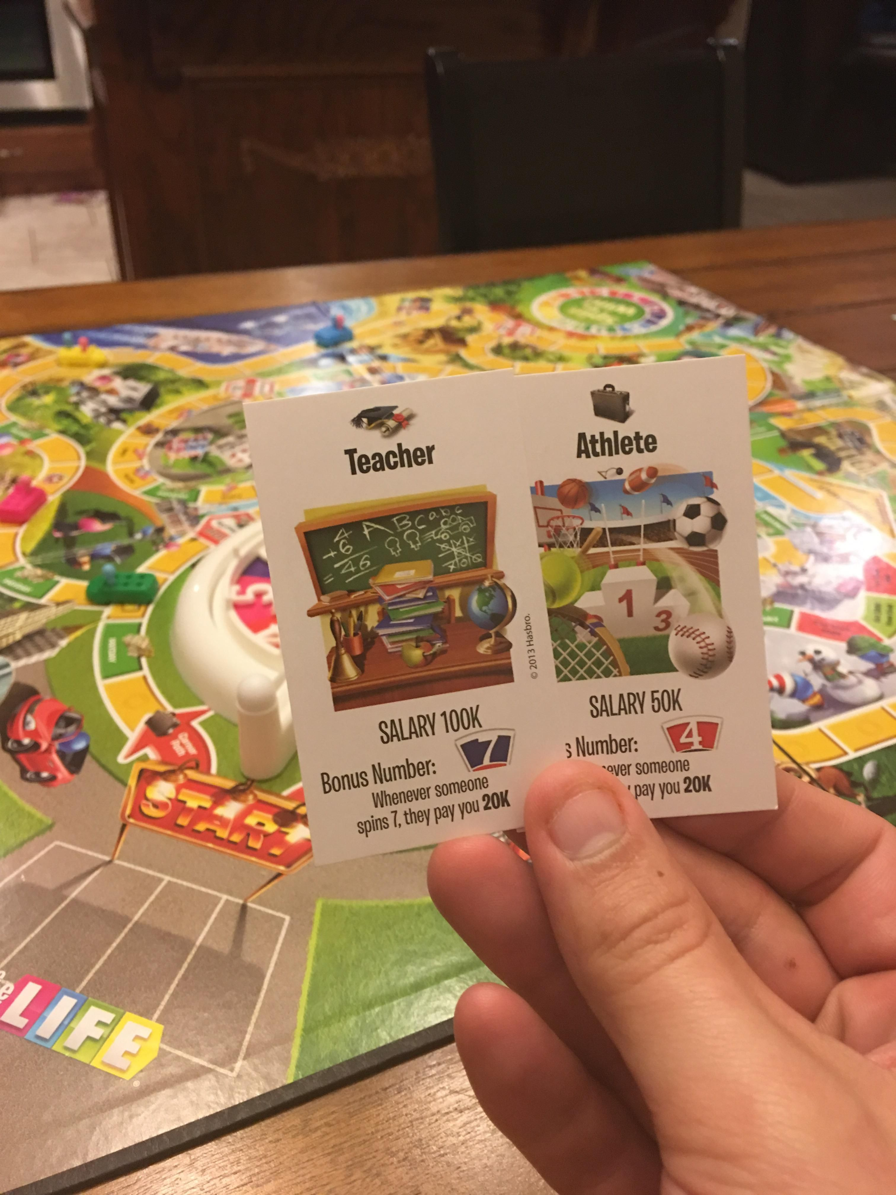 The game of Life has been setting us up for disappointment