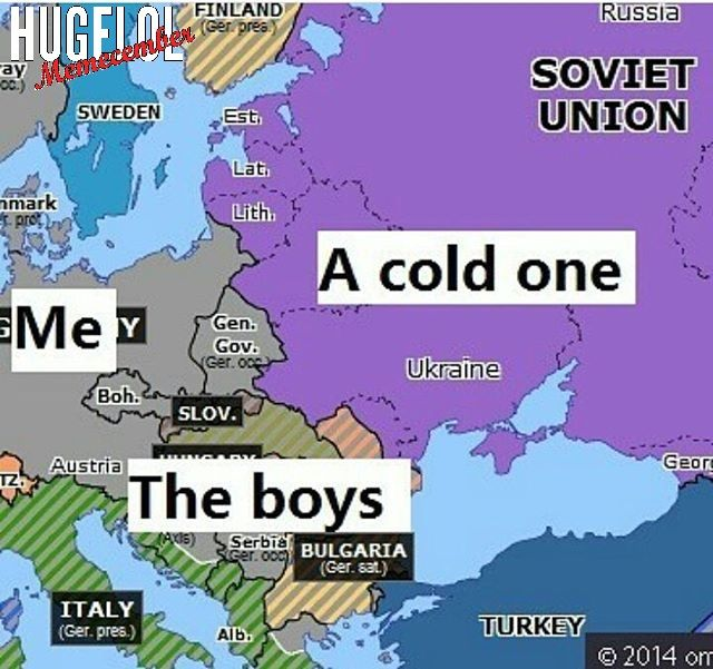 Day 5: Haha, it's funny because Russian winter