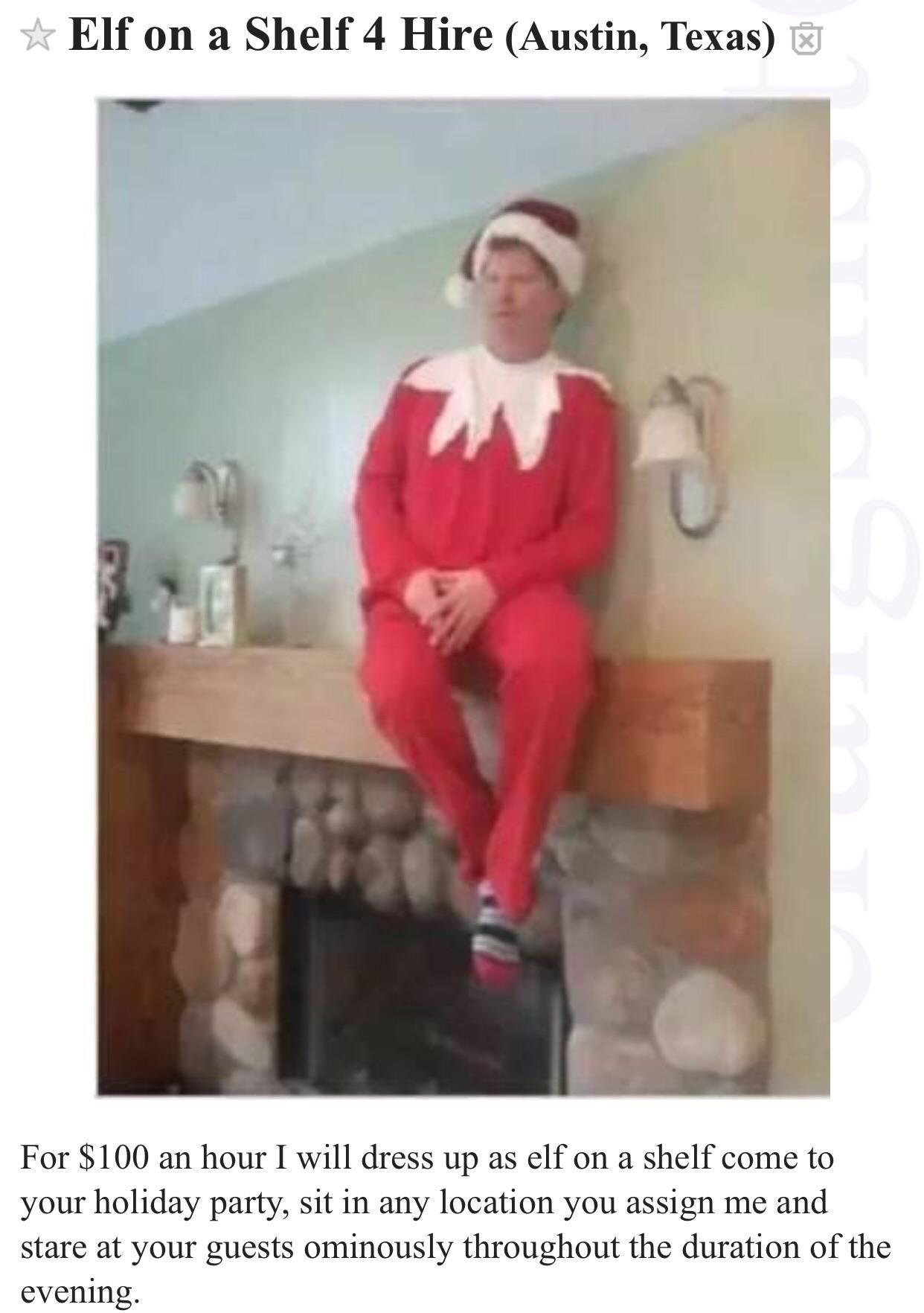 Elf on a Shelf 4 Hire