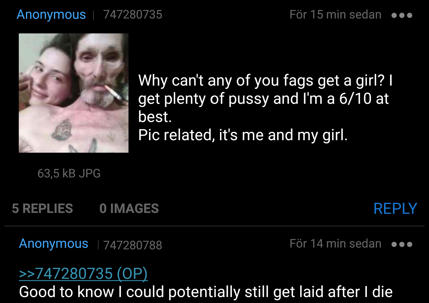 Anon is a 6 (apparently)