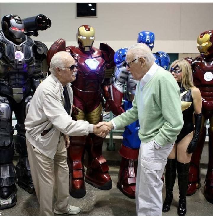 Stan Lee making a cameo appearance in his own life