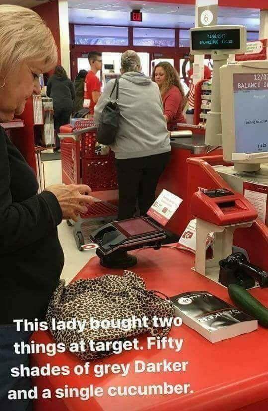 Self-Christmas shopping