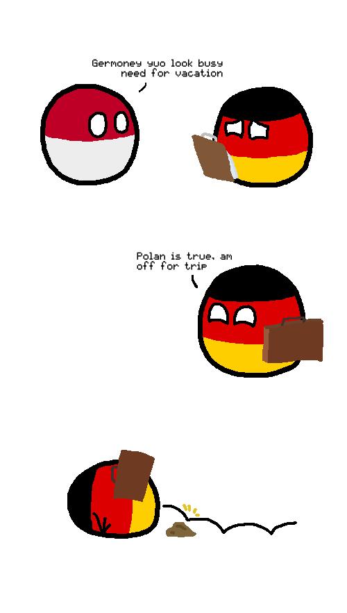 Where badpunsTuesday and PolandballWednesday meet