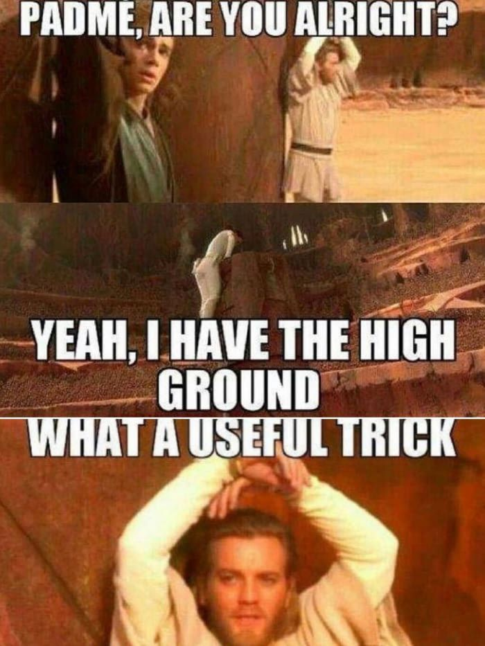 Only a Jedi Master could spot that