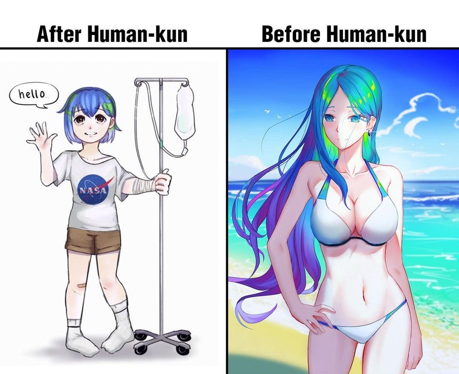 Human-kun isnt good for her