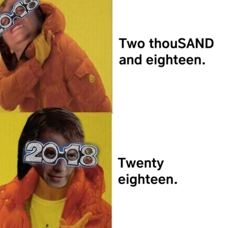 From a certain point of view 2018 is evil