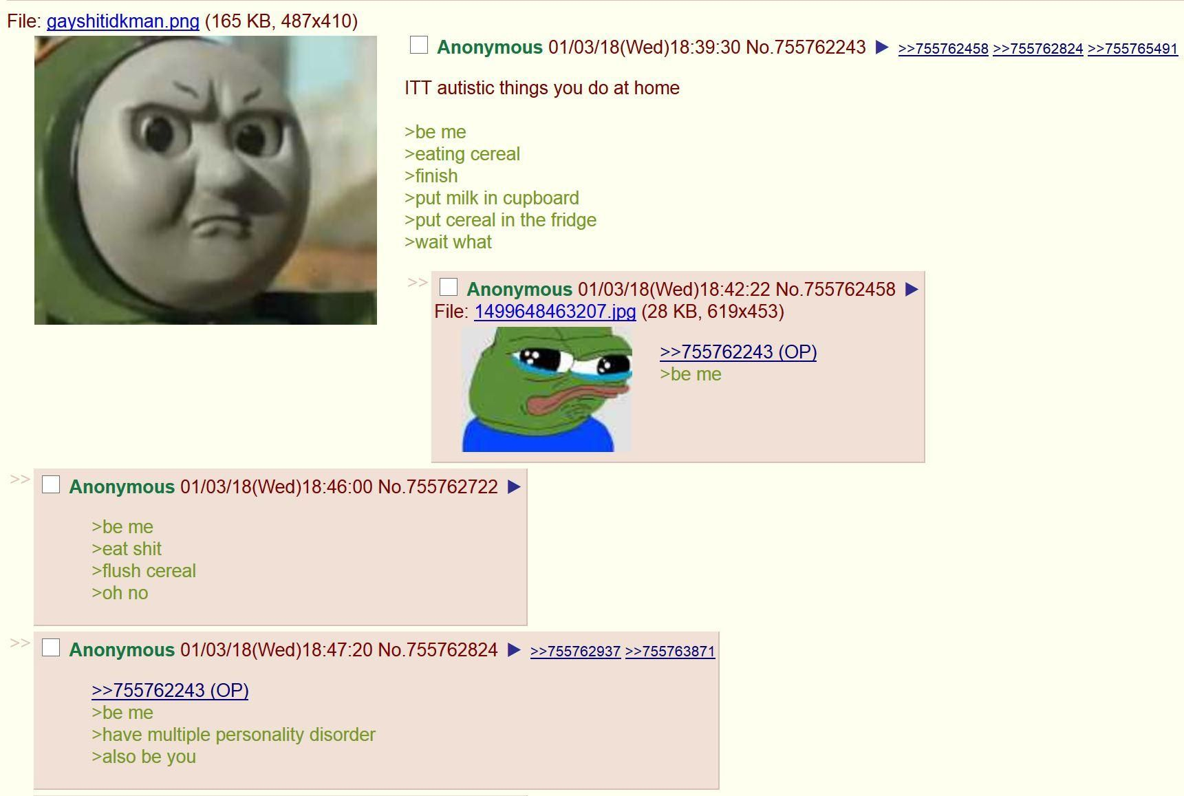 Anon is a samefag