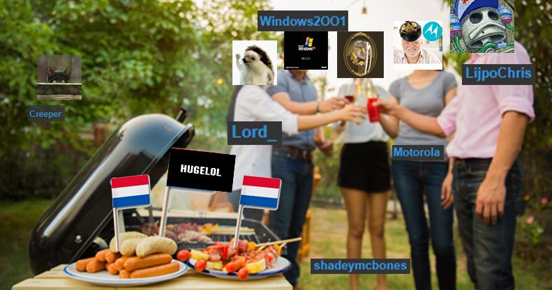 Dutch Hugelol party. Alle flapdrollen verzamelen!