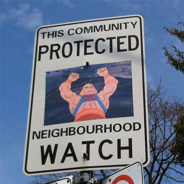 Canadian guy vandalizes a bunch of signs. The people rejoiced.