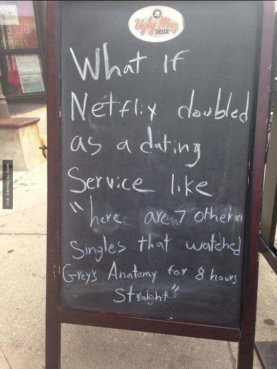 Netflix as a dating service