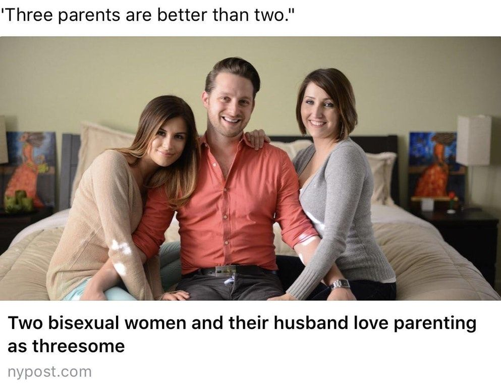 Dating a girl who had a threesome