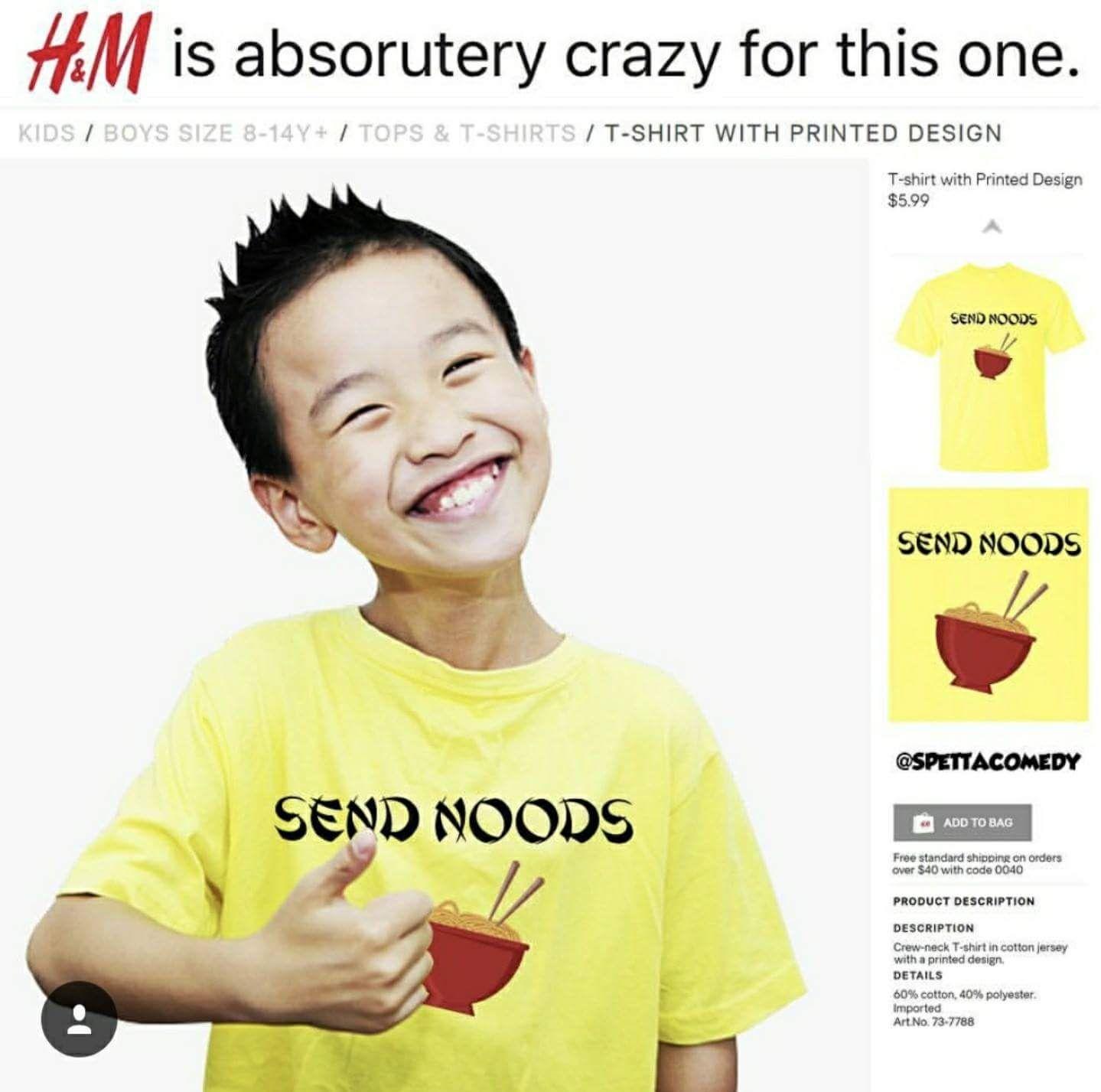 Send noods!