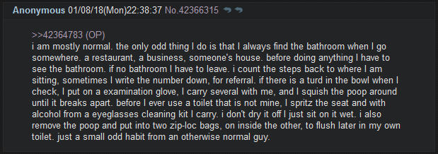 Anon is mostly normal