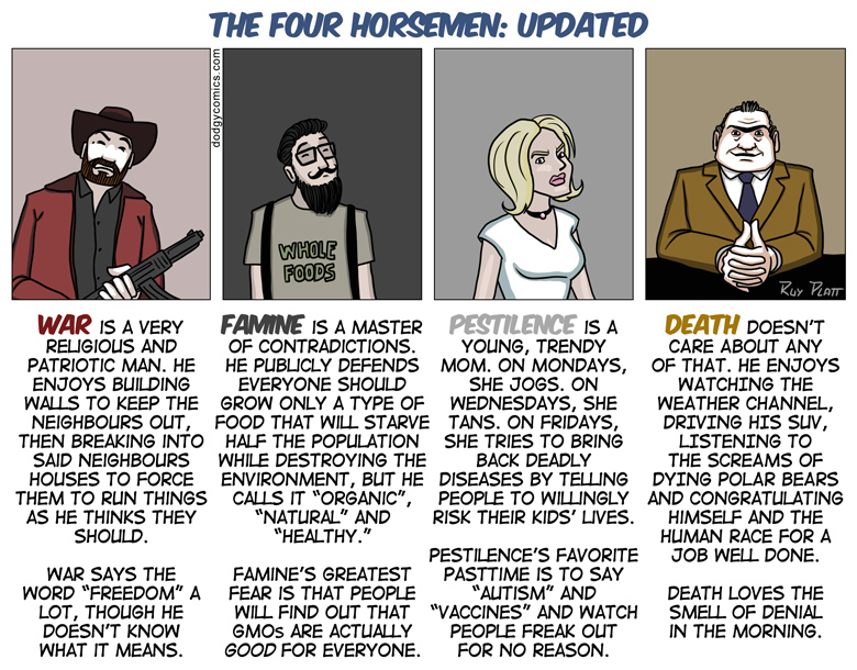 Updated Four Horsemen of Apocalypse