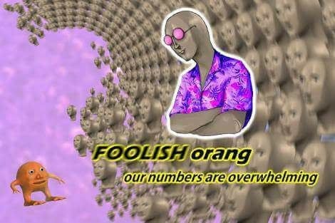 but orang has the octahedron