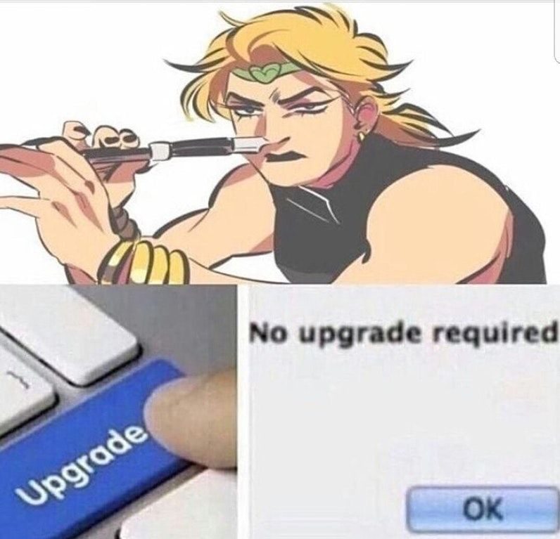 Never needed one