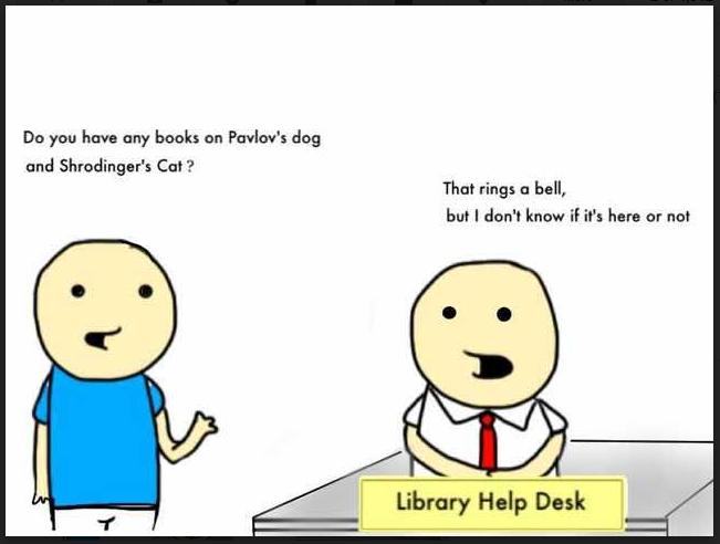 Library help desk