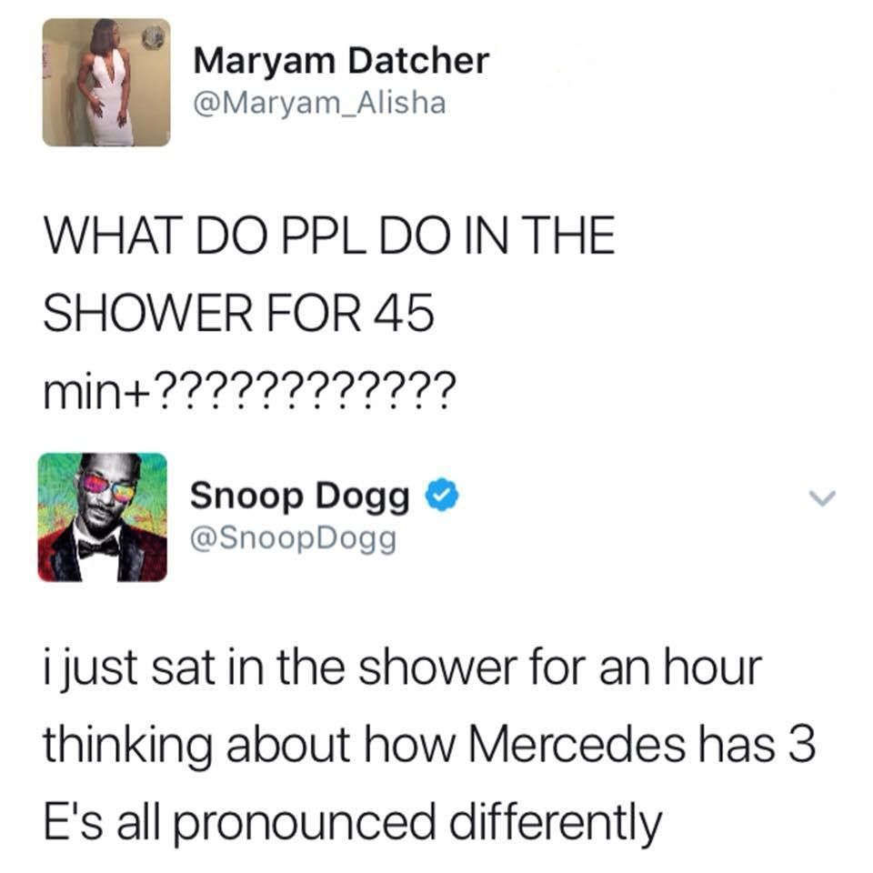 What do people do in the shower for 45 minutes + ?????