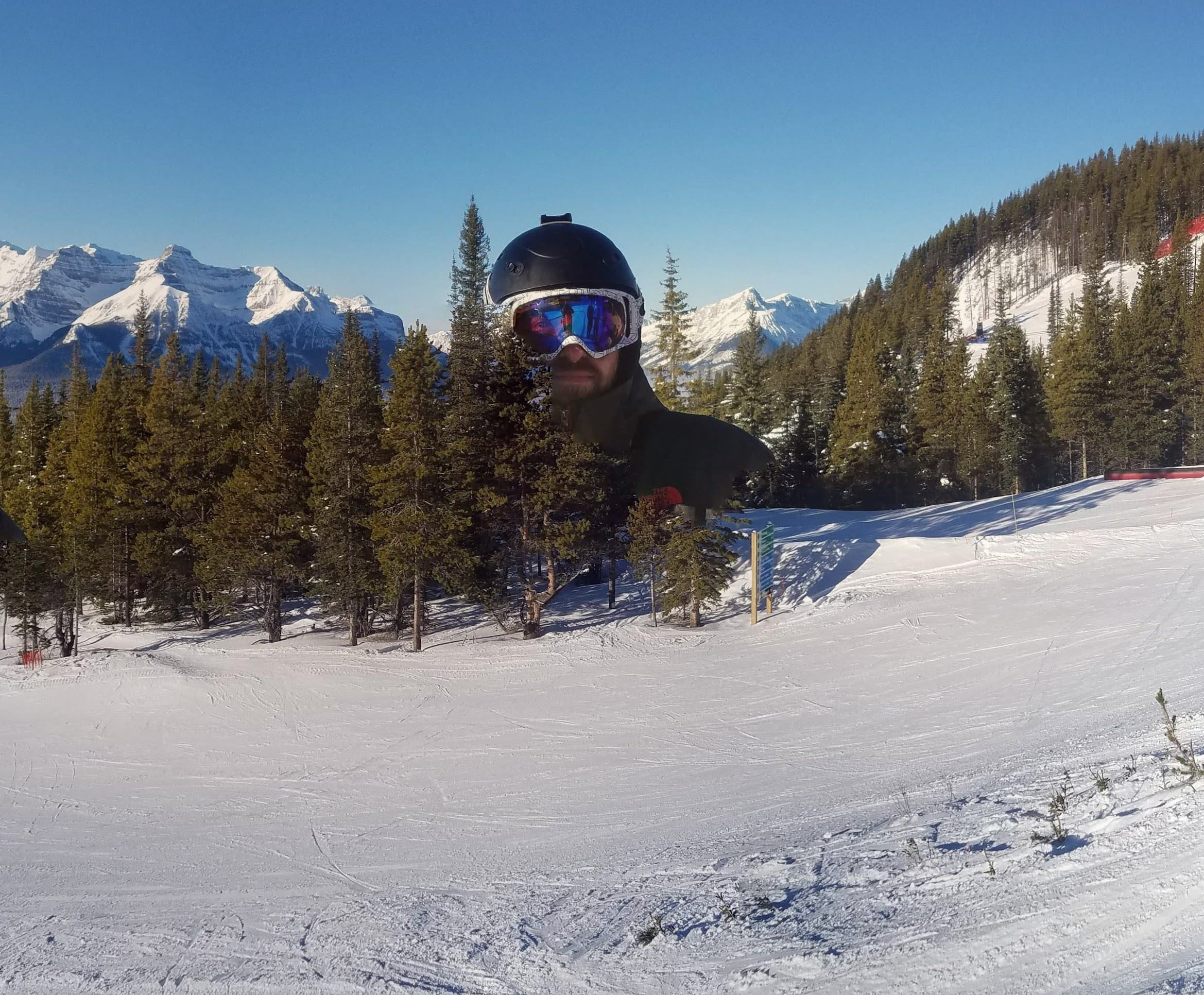 I took a few shots at Lake Louise today and Google offered me this panorama:
