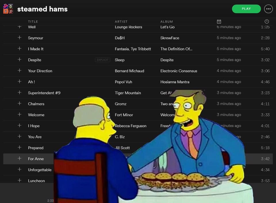 this playlist is pure steam