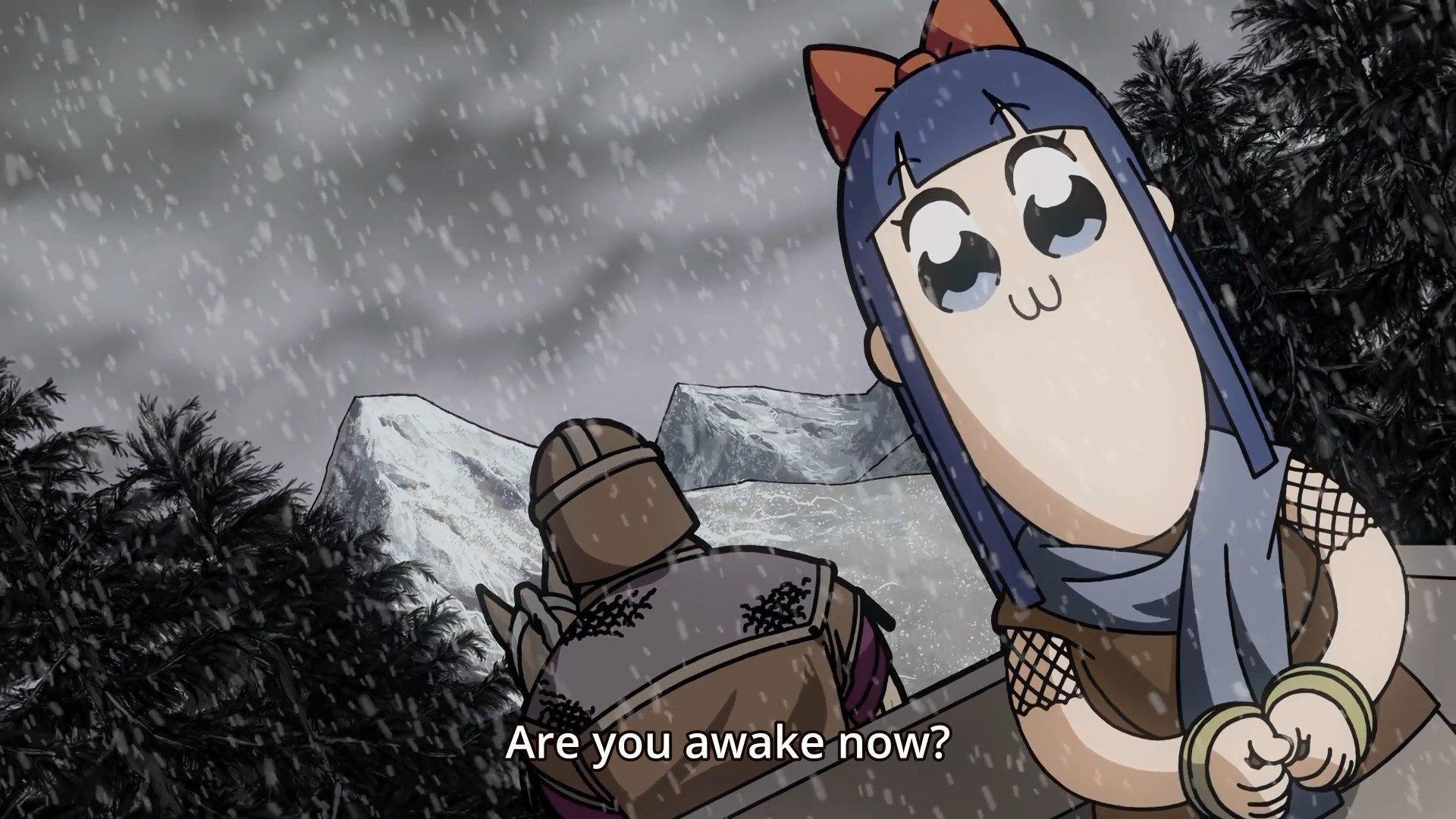 Skyrim strikes again (anime Poputepipikku)
