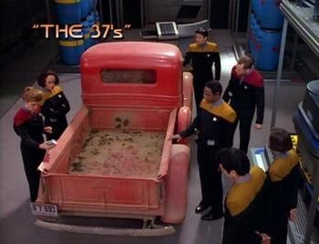 After today's space launch this scene from Star Trek voyager seems a little less far fetched