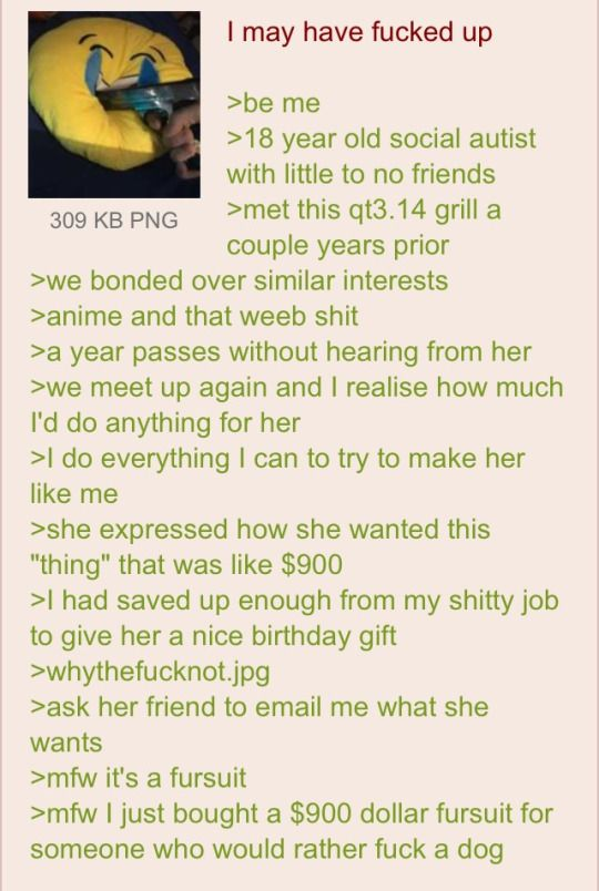 Anon meets a girl