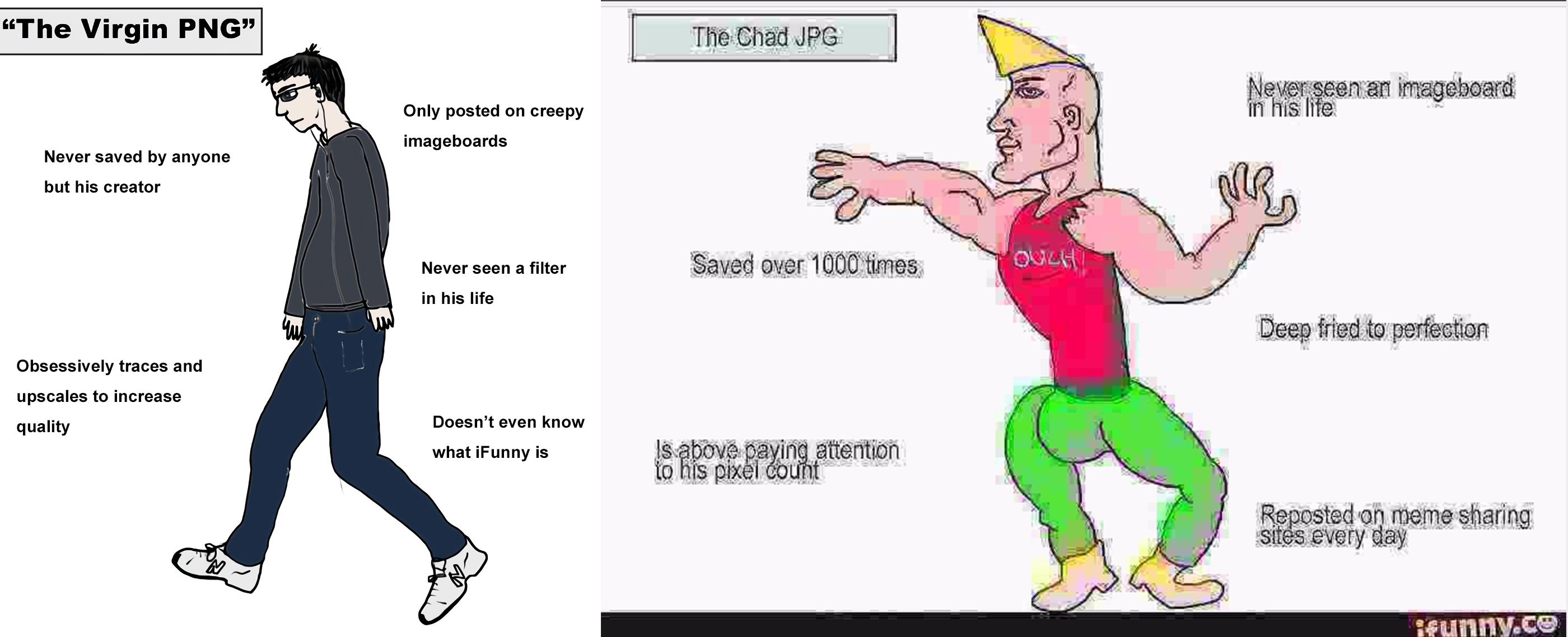 Similar to Virgin OC vs Chad repost