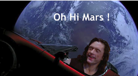 i did not hit earth, its not true