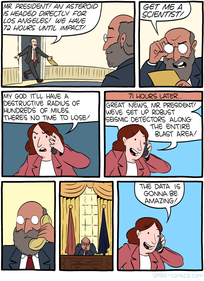 Get Me a Scientist!