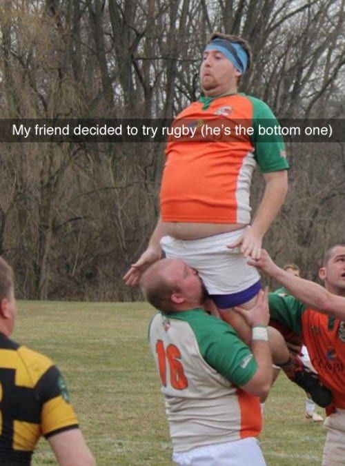 Try rugby they said, it will be fun they said...