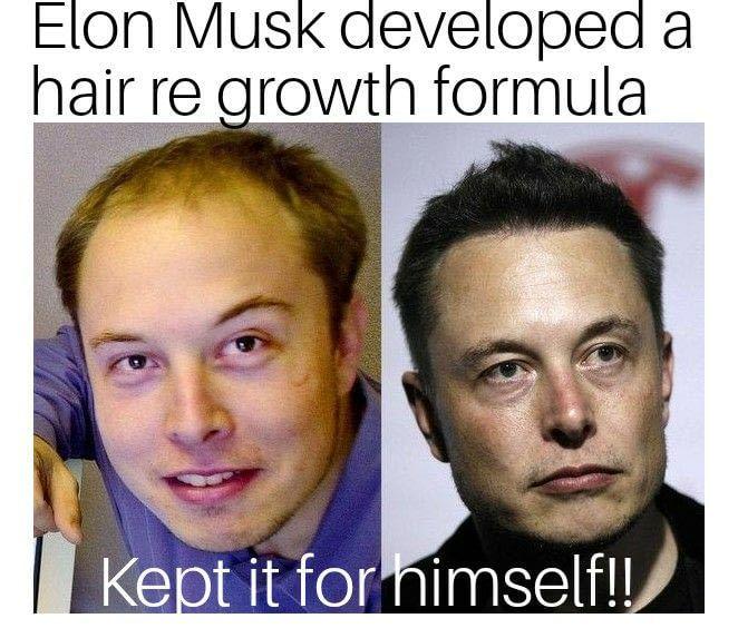 Elon Musk transformation..