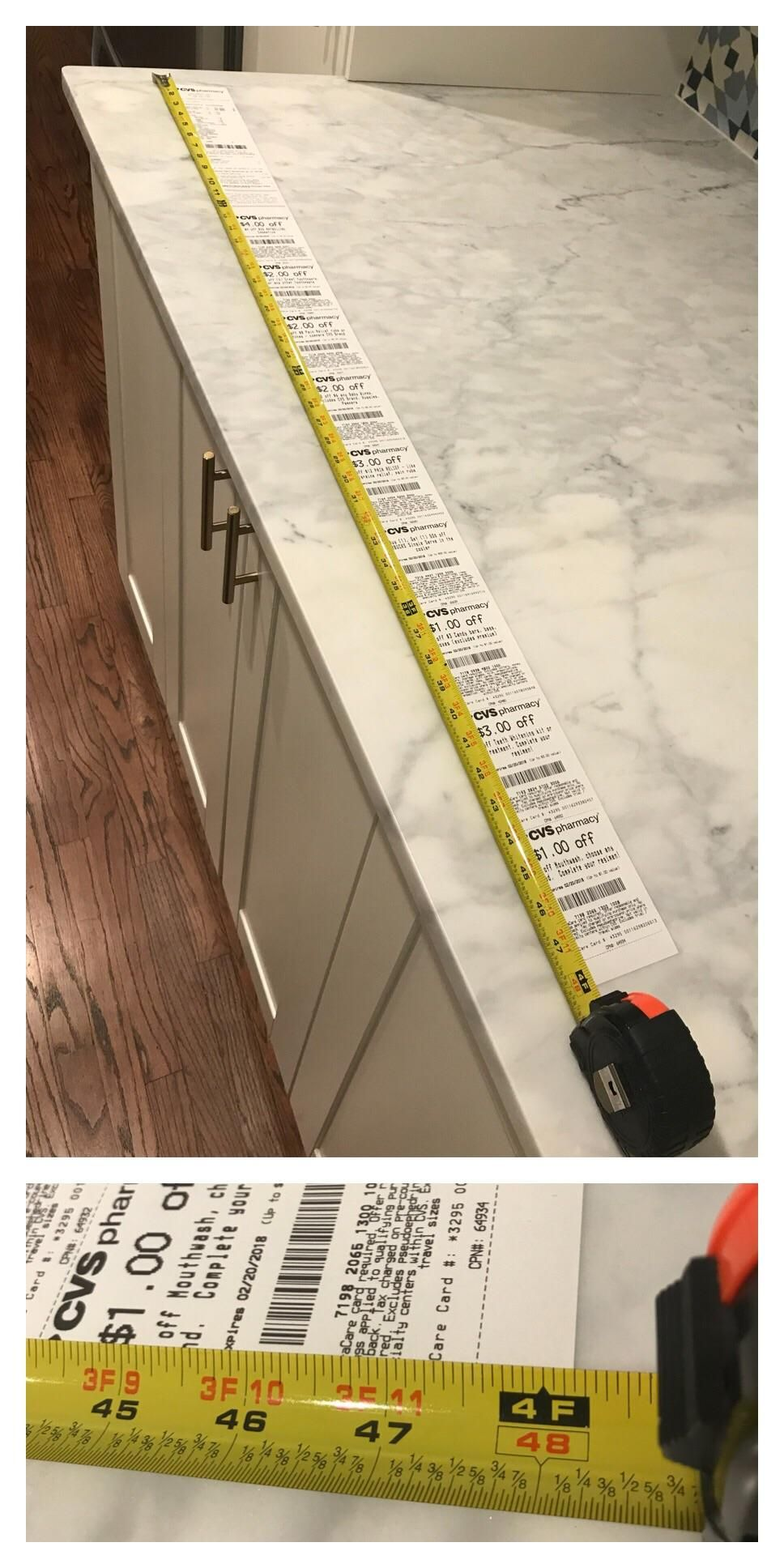 Tonight's CVS receipt for a $4 purchase