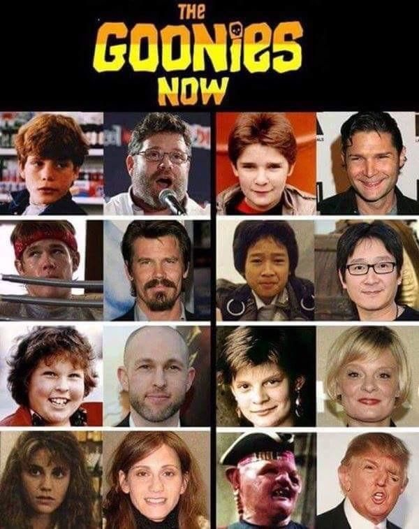 Was looking to see what The Goonies cast looks like now. Was not disappointed.