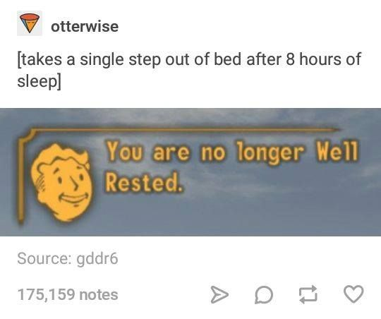 bethesda and the well-rested theme