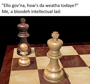 I can't find any chess puns to put in the title. I'm not that cheeky.