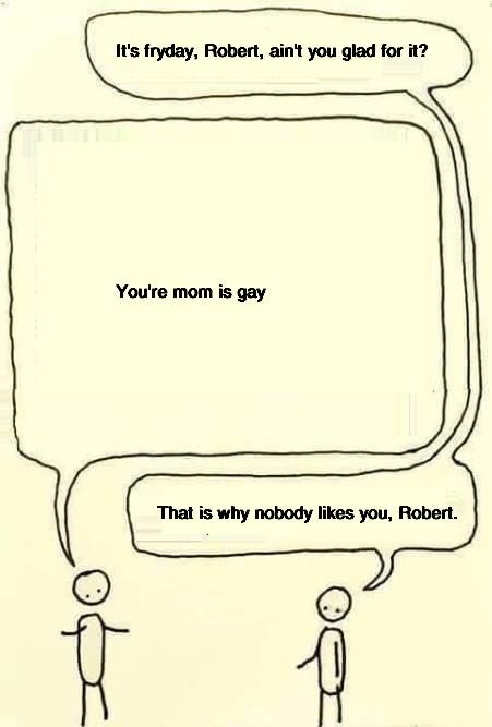 Robert is shor for Robertson