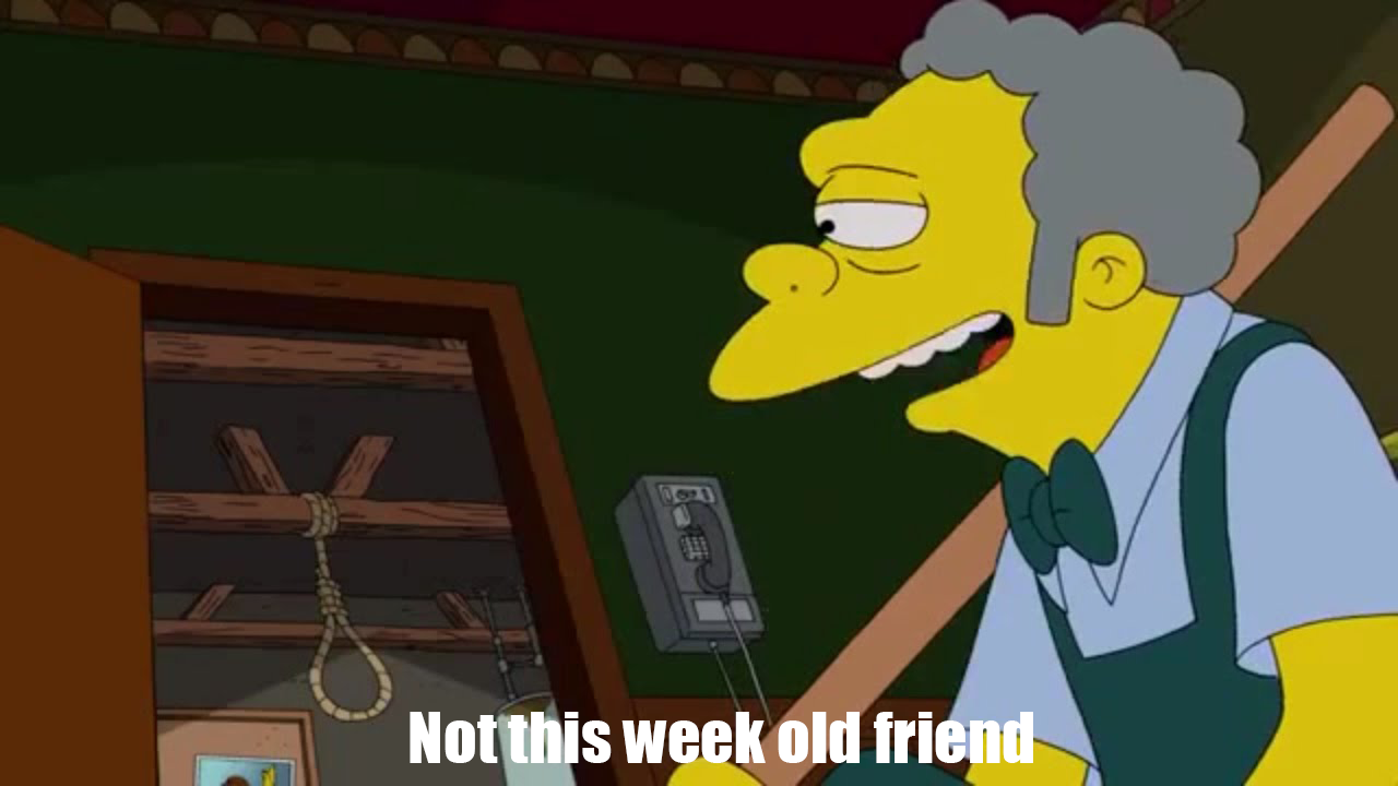 When you're about to end it all but remember OC-Week starts tomorrow