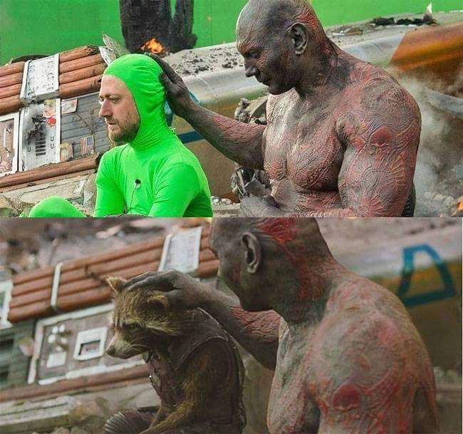 They should release the green suit cut. I'd watch it.