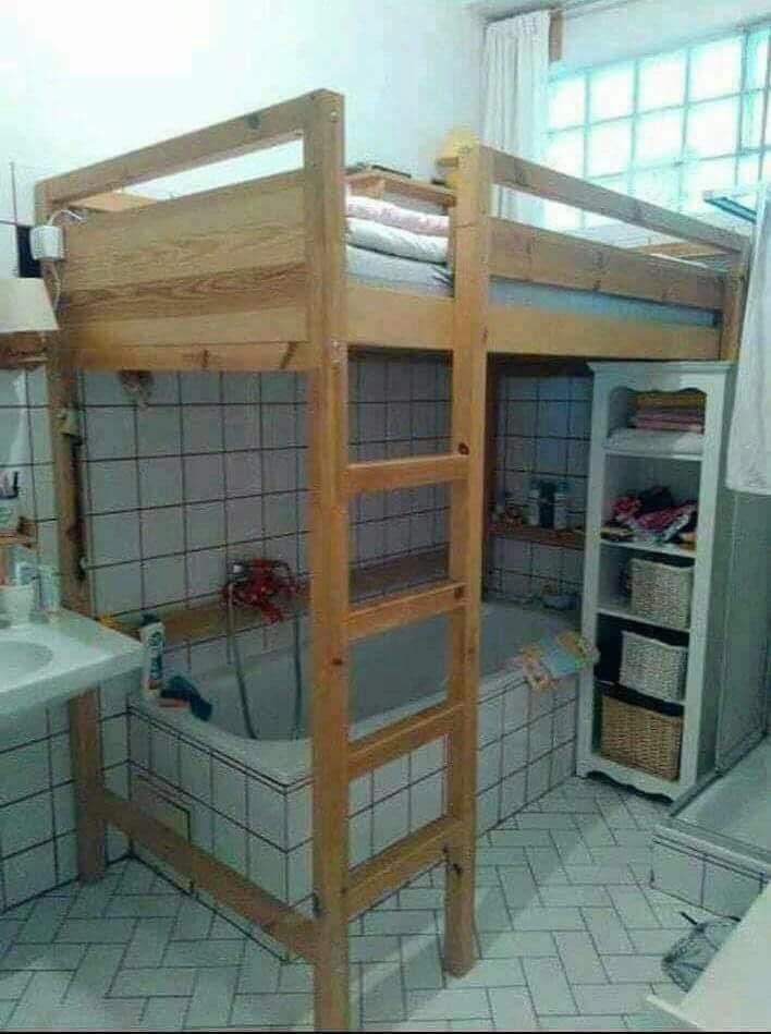 My agent told me it's a one bedroom with attached bathroom