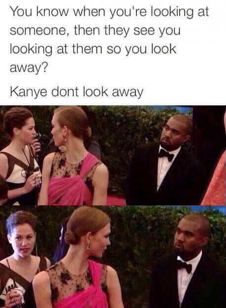Kanye Don't Look Away